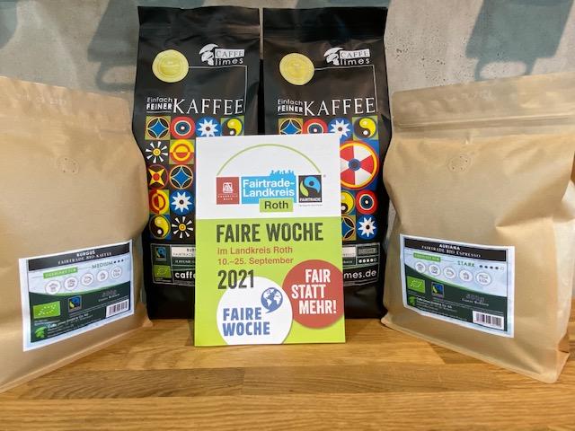 Fairtrade Caffe Lime Kaffee