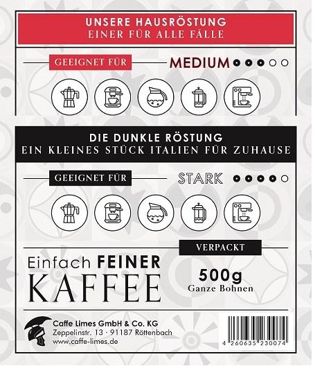 Kaffee Probierpaket (medium/dunkel)